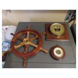 2 Barometers - Boat Helm