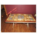 Tiled Top Coffee Table