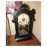 "Mantle Clock 10 1/2""x5 1/2""x19"""