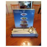 4 Tier Server - Royal Limited Silver Plate Ladle