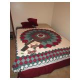 Queen Size Bed With Frame (Bedding Not Included)