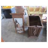 Outhouse Toilet Paper Box & Magazine Rack