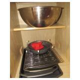 Baking Pans- Stainless Mixing Bowls