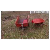 Garden Cart - Wheel Barrow