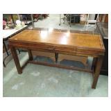 """Lane Sofa Table 29 1/4""""T x 55 3/4""""W x 20""""D. Wear"""