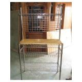 """Wire Bakers Rack 63 1/2""""T x 36""""W x 14""""D"""