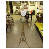 """Piano Lamp. Electrified. 43 1/2""""T x 18 1/2""""W"""