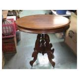 """Victorian Oval Table 29 1/4""""T x 31"""" x 23 1/4"""""""