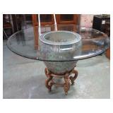"Oriental Table 31""T x 48""W"