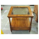 """Side Table 23 1/4""""T x 24""""W"""