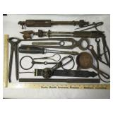 Lot of Blacksmith & Other Tools Inc. 2 Ford