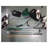 Sports Equipments Inc. Golf Clubs, Shoes,