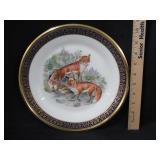 1974 Lenox Boehm Fox Plate
