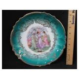 H.P. Victorian Plate w/ The 3 Graces