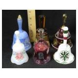 6 Crystal Bells