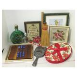 Fox & Geese Game, Victorian Hand Mirror, & More
