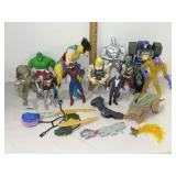 Action Figures Inc. Silver Surfer & Wolverine