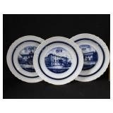 1970, 71, 72 Blue & White Plates