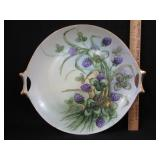 H.P. Hutschenreuther Cake Plate Artist Signed