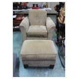 Chair 37x37x38 & Ottoman