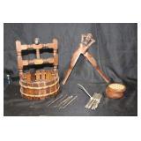 Wooden Kitchen Items