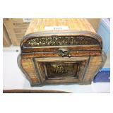 Bamboo & Metal Box