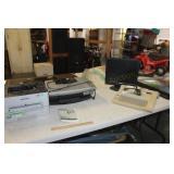 Smith Corona Display Typewriter, Samsung Express