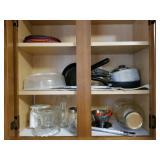 Pot-pans-misc glassware