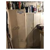 Metal Cabinets W/Contents