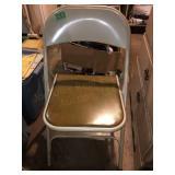 (2) Metal Folding Chairs