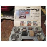 25 PC Rubber Sanding Drum Set