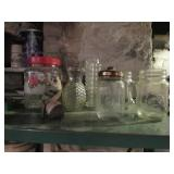 Glass Jars & Vases