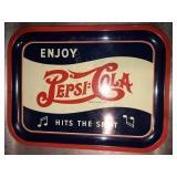 Vintage Pepsi Cola Tray