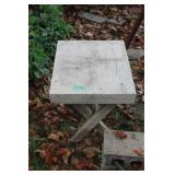 (2) Wooden End Tables
