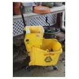 Caution Mop Bucket