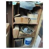 Shelf w/ Contents, Electrical Parts