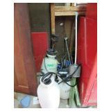 (2) Pump Sprayers, (2) Foggers