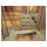 Blacksmith Shaping Anvil & Blacksmith Tools