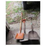 (3) Shovels