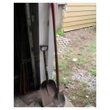 (2) Shovels