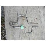 (2) Craftsman Hand Crank