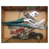 Ajustable Wrenches & Pipe Wrenches