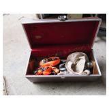 Tool Box  w/ Straps & Accessories