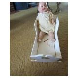 Toy Cradle -Doll