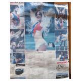 Derrick Dolls 1980 calendar poster