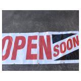 Open Soon banner