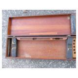 Solid mahogany gun box