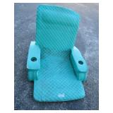Sea Green Baja solid foam pool lounger