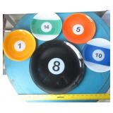 Billiards theme serveware
