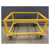 HD Welded Steel Rolling Cart